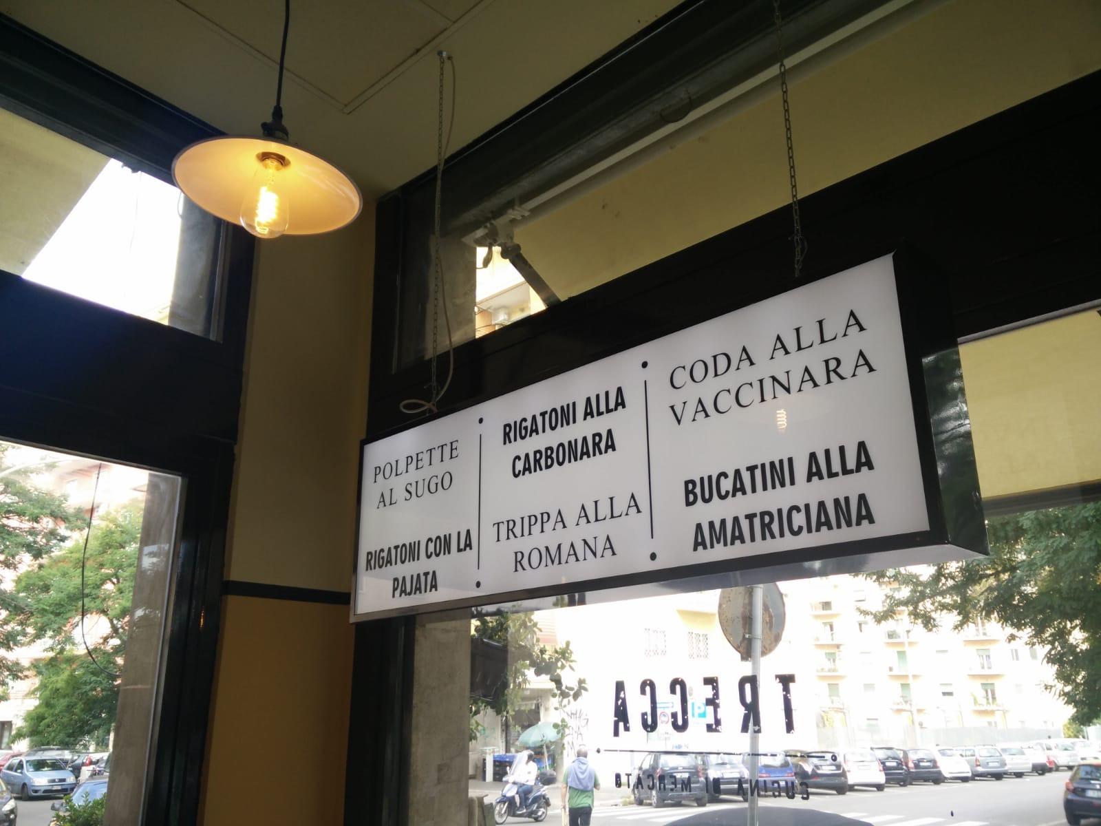 Trecca Cucina Di Mercato Roma A Ostiense La Coda Alla
