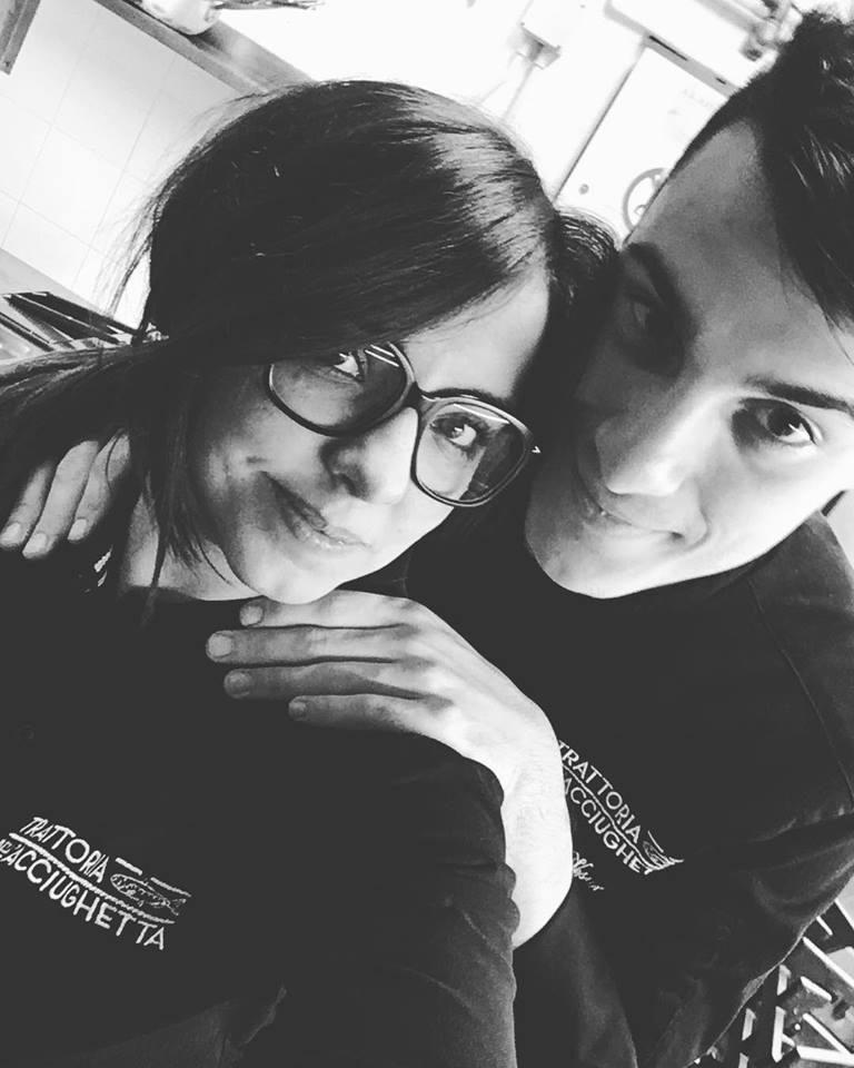 Giorgia Losi e Simone Vesuviano Acciughetta Genova