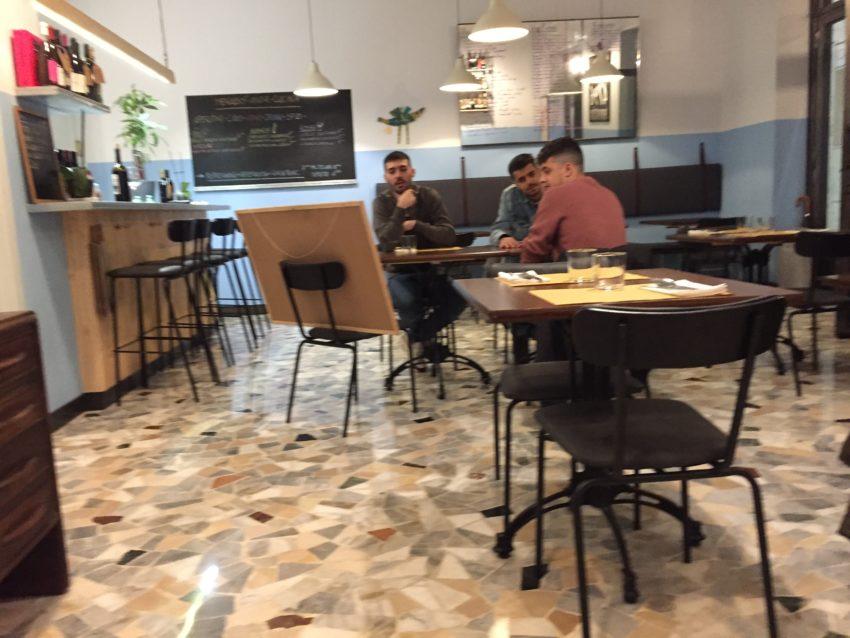 Menabò Vini e Cucina Roma interni