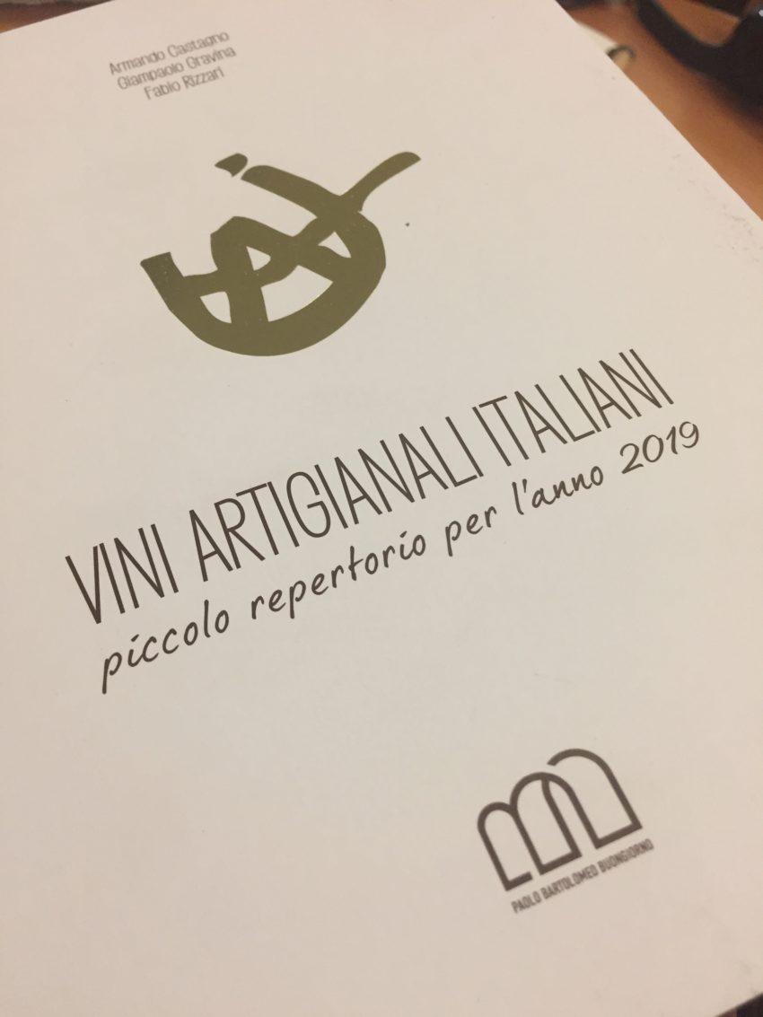 vini artigianali italiani