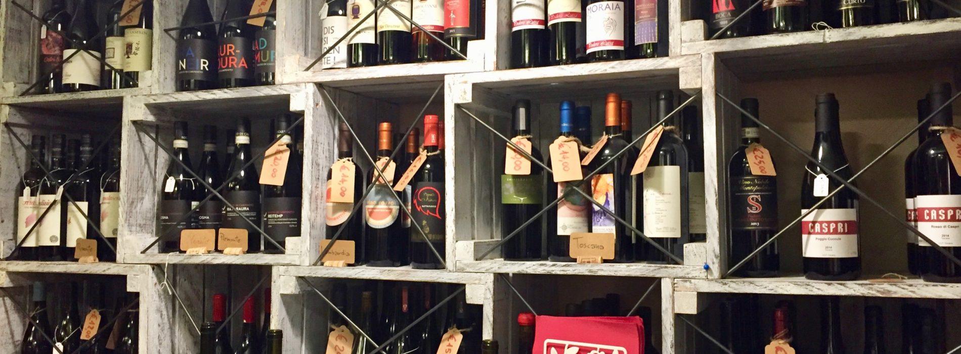 Naturavino Roma, vino naturale e prodotti a filiera corta nell'enoteca di Marconi