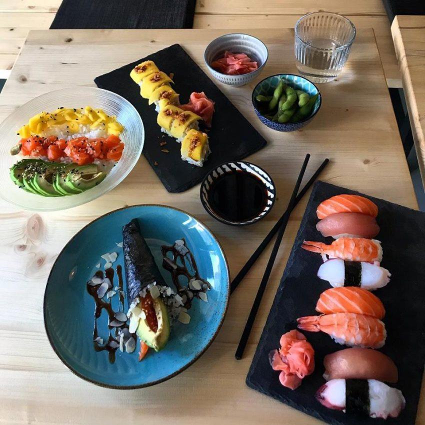 mun sushi bar roma