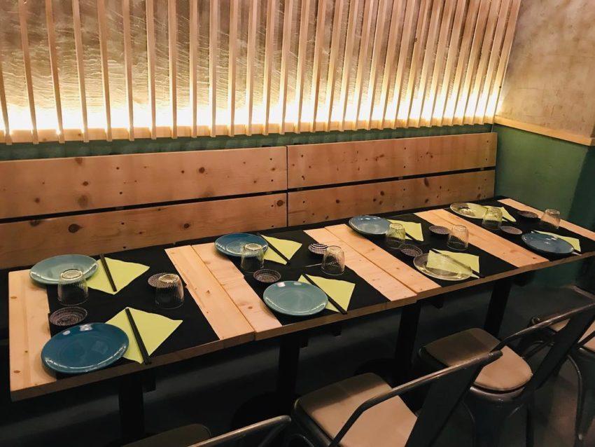 mun sushi bar roma interni