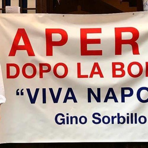 Sorbillo riapre la sua pizzeria a Napoli dopo la bomba