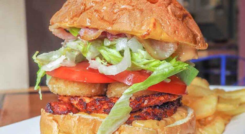 131 Chicken Experience, gli Hamburger nel menu