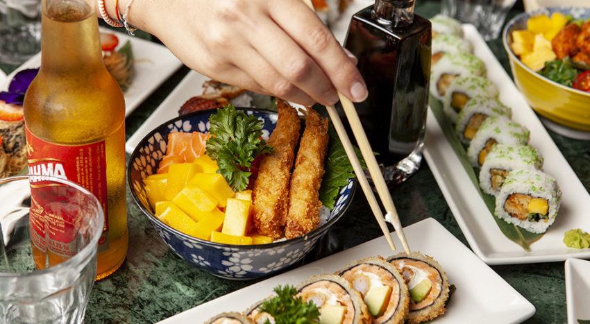 Balada Sushi: nel menu anche tartare, ceviche, pokè, uramaki speciali