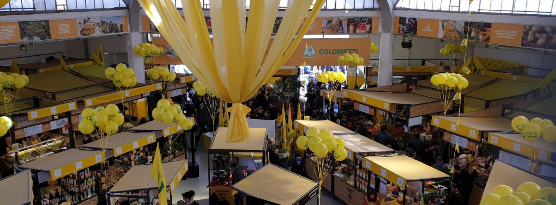 Mercato di Campagna Amica al Circo Massimo Roma, spesa bio e street food di qualità