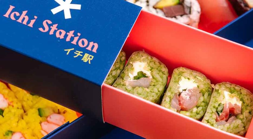 Ichi Station, delivery di sushi