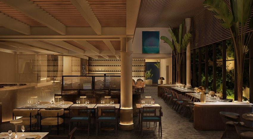 In Milano, il ristorante in Brera