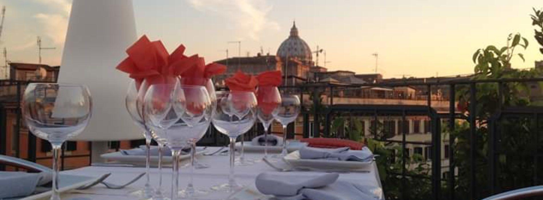 La Segreta A Roma Il Ristorante Della Terrazza Dell Hotel