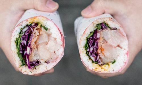 Fusho Milano, il sushi burrito apre in Cinque Giornate
