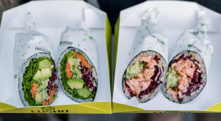 Fusho, sushi burrito take away