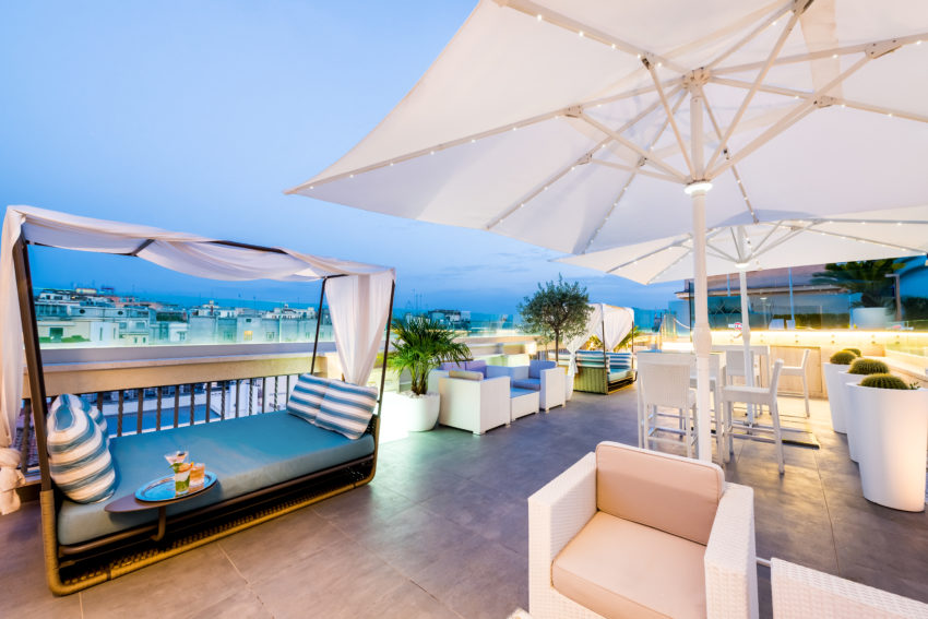 Sky Blu Terrace by Aleph Hotel