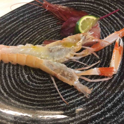 Osteria dell'Orologio a Fiumicino, la cerimonia del Crudo di pesce che non dimenticherai
