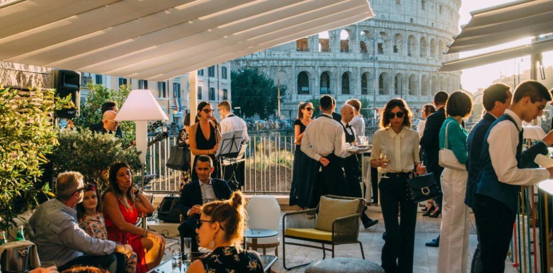 Aperitivo all'aperto a Roma, cinque locali cool in centro per l'estate 2019