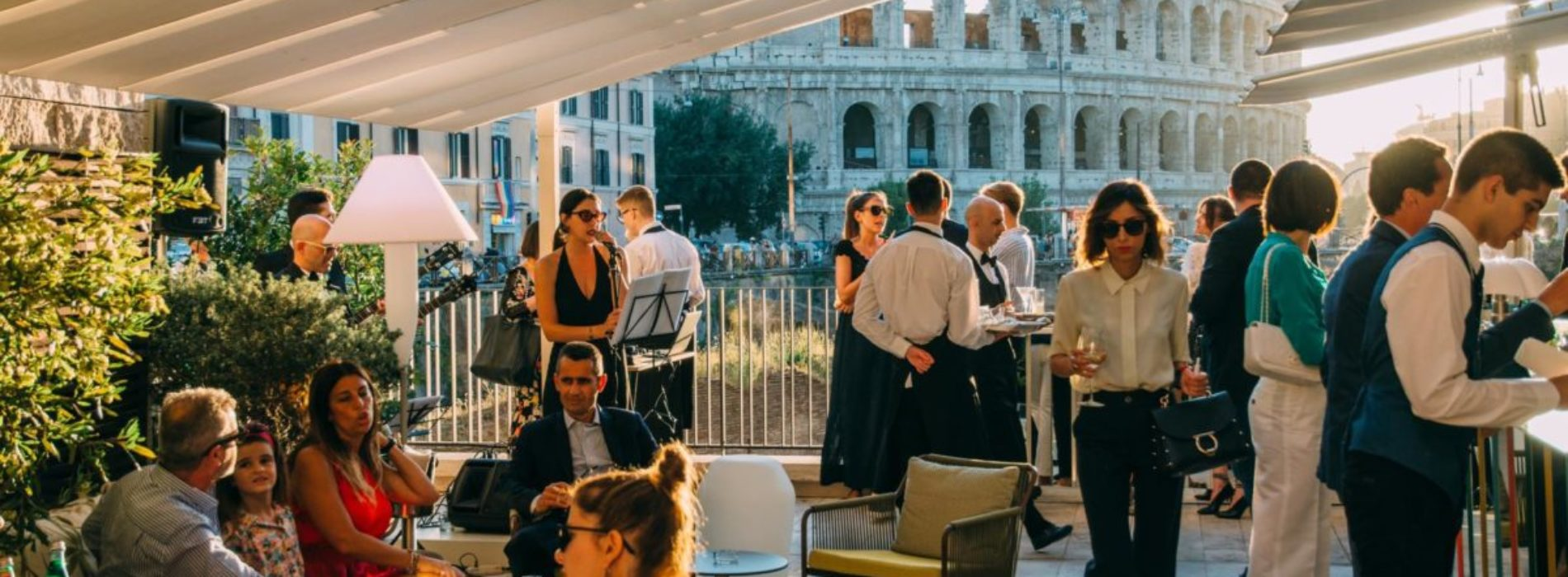Aperitivo all'aperto a Roma, cinque locali cool in centro per l'estate 2019
