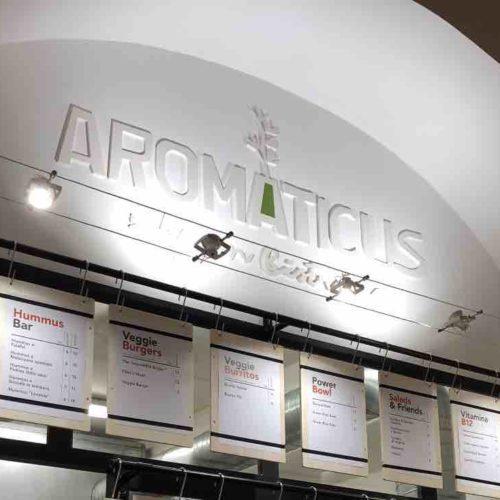 Aromaticus Trastevere, il bistrot green raddoppia: hummus, power bowl e burger vegani