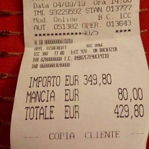 Scontrino folle all'Antico Caffè di Marte di Roma, 430 euro: cosa hanno mangiato e chi ha torto