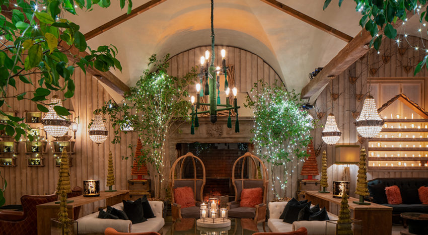 Four Seasons Milano: l'Urban Chalet