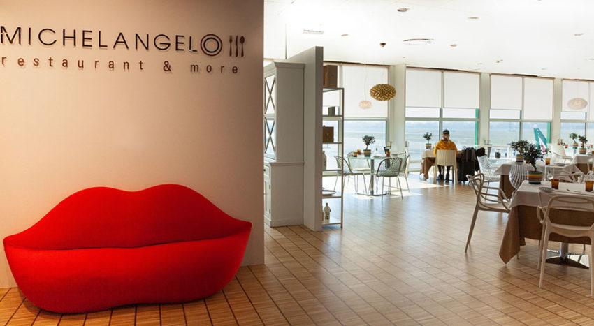Ristorante Michelangelo all'aeroporto di Linate