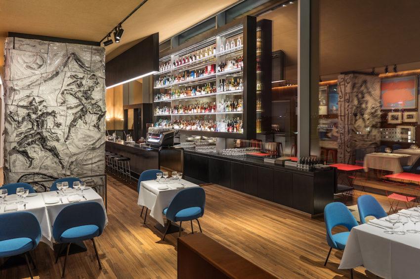 Il ristorante Torre alla Fondazione Prada