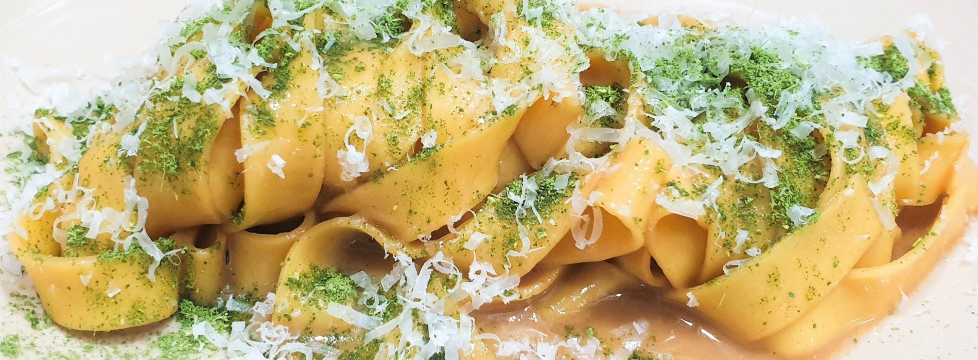 Le fettuccine porro, parmigiano, limone di Barred di Tiziano Palucci / Cento cose da mangiare a Roma