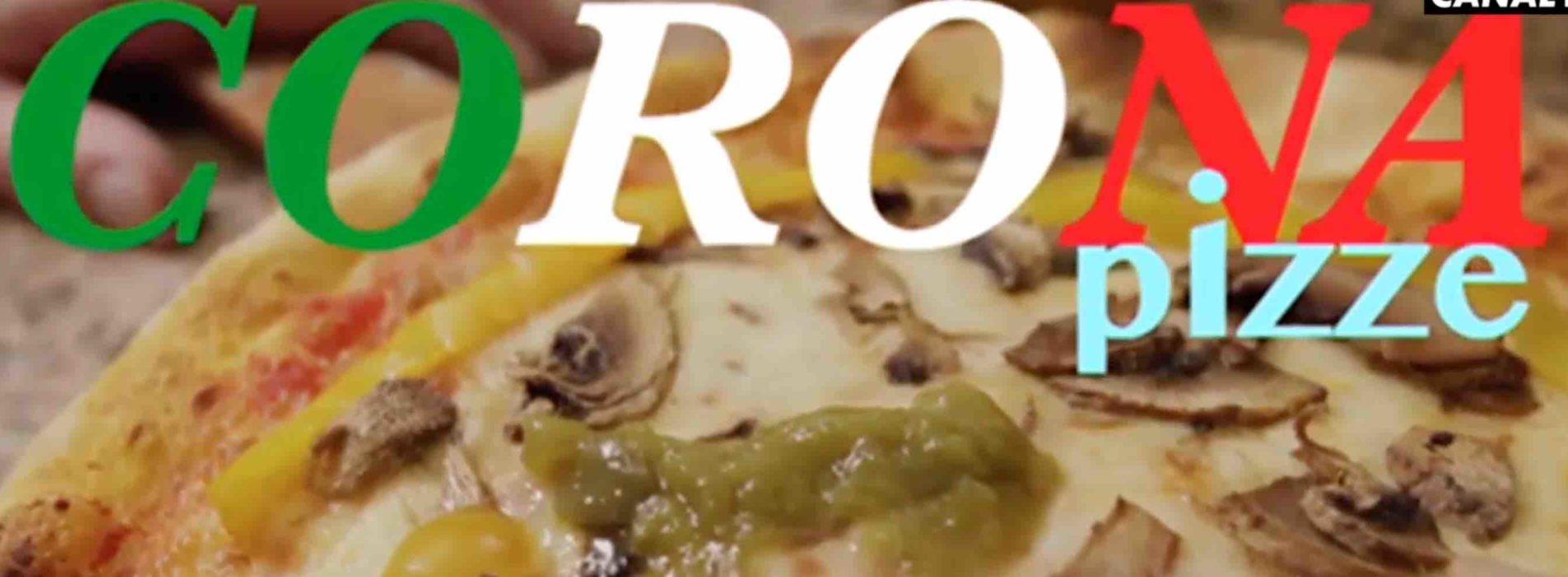 """Pizza e coronavirus, il video """"satirico"""" e odioso dei francesi"""
