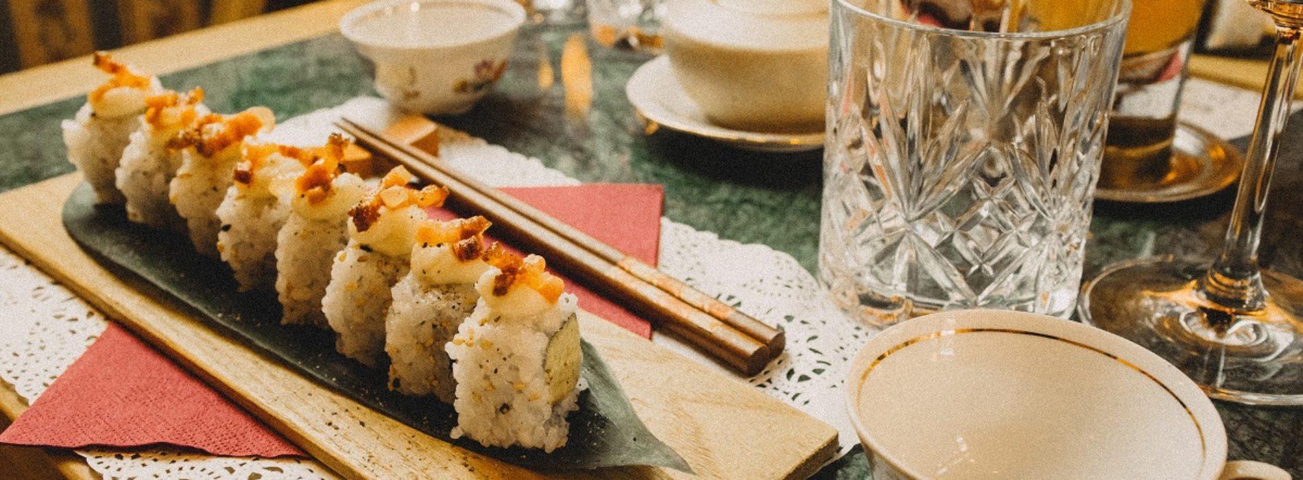 Gasperino Uramaki Roll, la ricetta dello chef Giordani di The Gipsy Bar