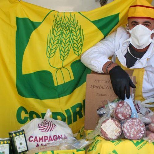 Spesa a domicilio, da Coldiretti e Campagna Amica pacco salva dispensa con i prodotti del made in Italy
