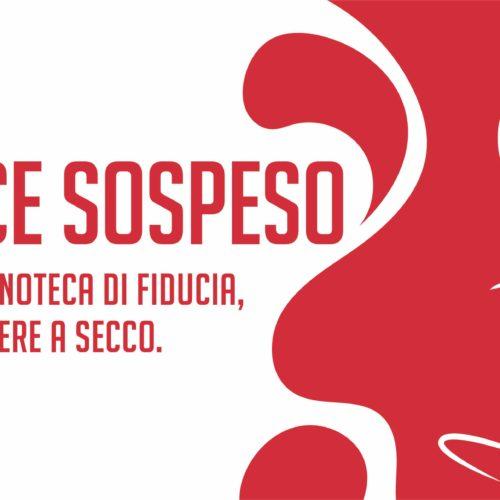 Il Calice Sospeso per aiutare le enoteche di Roma, aderisci con il Puntarella Rossa Wine Club (e dona a Intersos)
