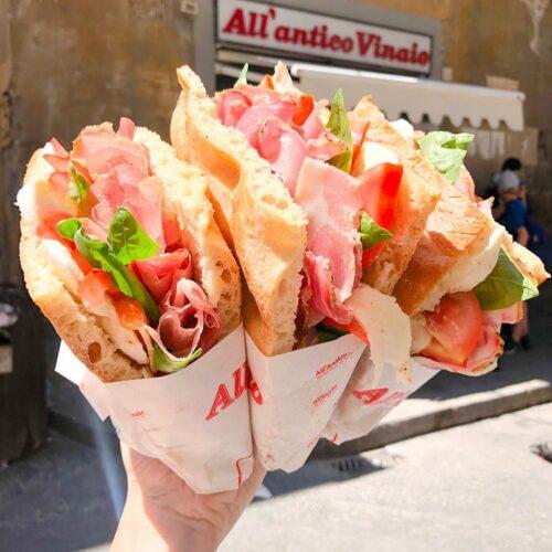 Delivery e take away a Firenze, dieci ristoranti paninoteche e gelaterie con asporto e consegna a domicilio
