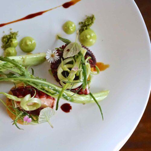 Polpo, panelle e puntarelle, come farlo in casa con la ricetta della chef Paola Colucci di Pianostrada