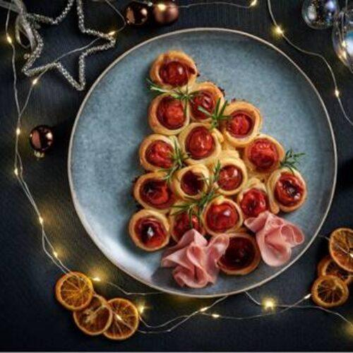 Albero di Natale con mortadella, la ricetta last minute per l'antipasto delle Feste