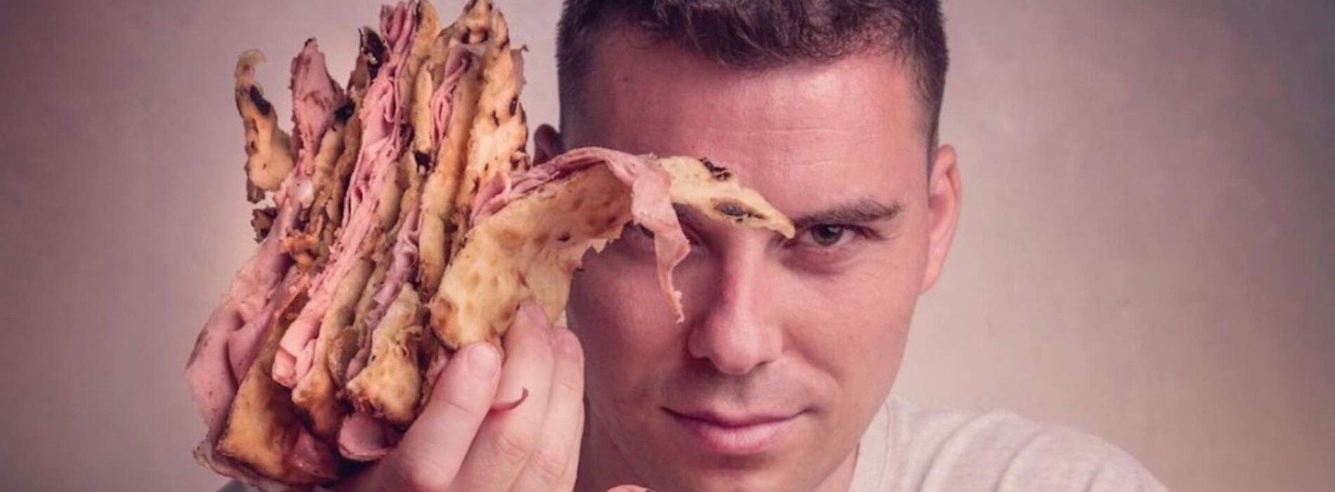 """Jacopo Mercuro e il nuovo 180g, Roma: """"La mia pizza cambia casa ma resta a Centocelle. Farci affossare dal Covid? Non se po' fa'"""""""