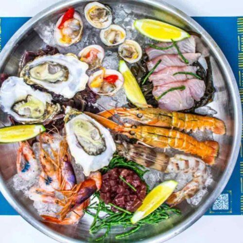 Cena di pesce a domicilio a Roma: crudi, fritture e box di mare per delivery e take away