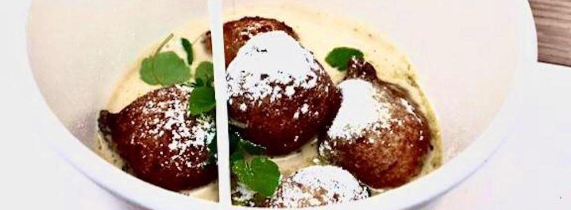 Ricette di Carnevale: il Bonbon di riso è firmato da Dario Nuti del Rome Cavalieri