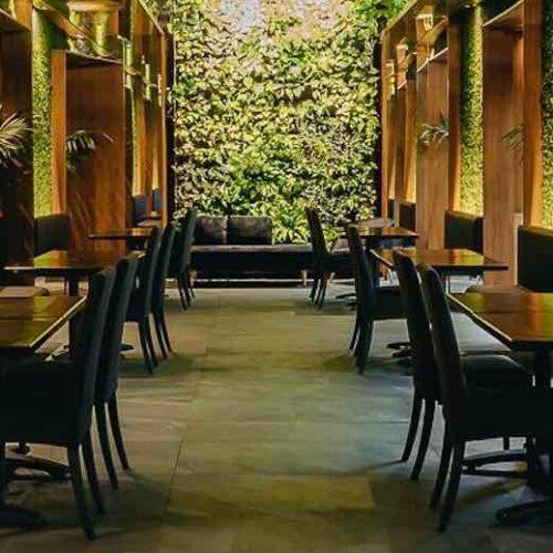 Green Hole Roma: giardini verticali e cucina fusion nello spazio verde indoor di Sant'Eustachio