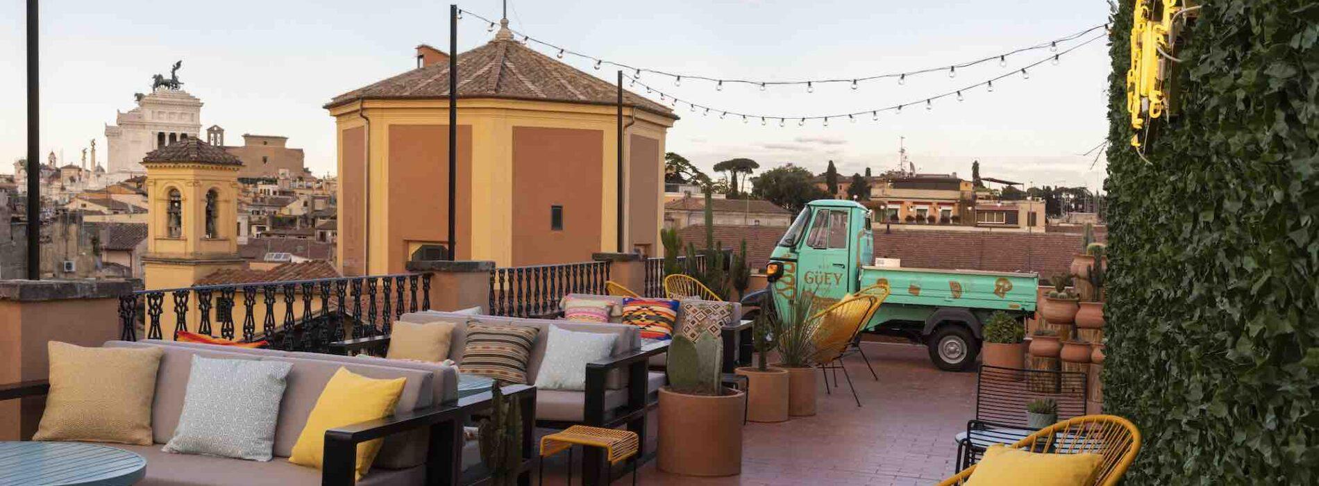 Hey Güey Roma, cucina messicana e mixology nella nuova terrazza dell'Hotel Chapter