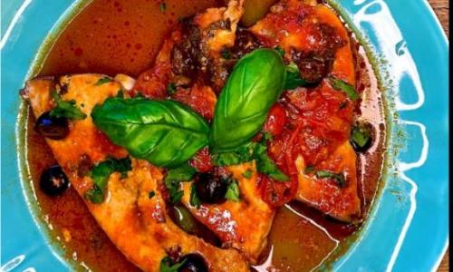 Pesce Spada alla siciliana, la ricetta del ristorante Arrow's di Milano