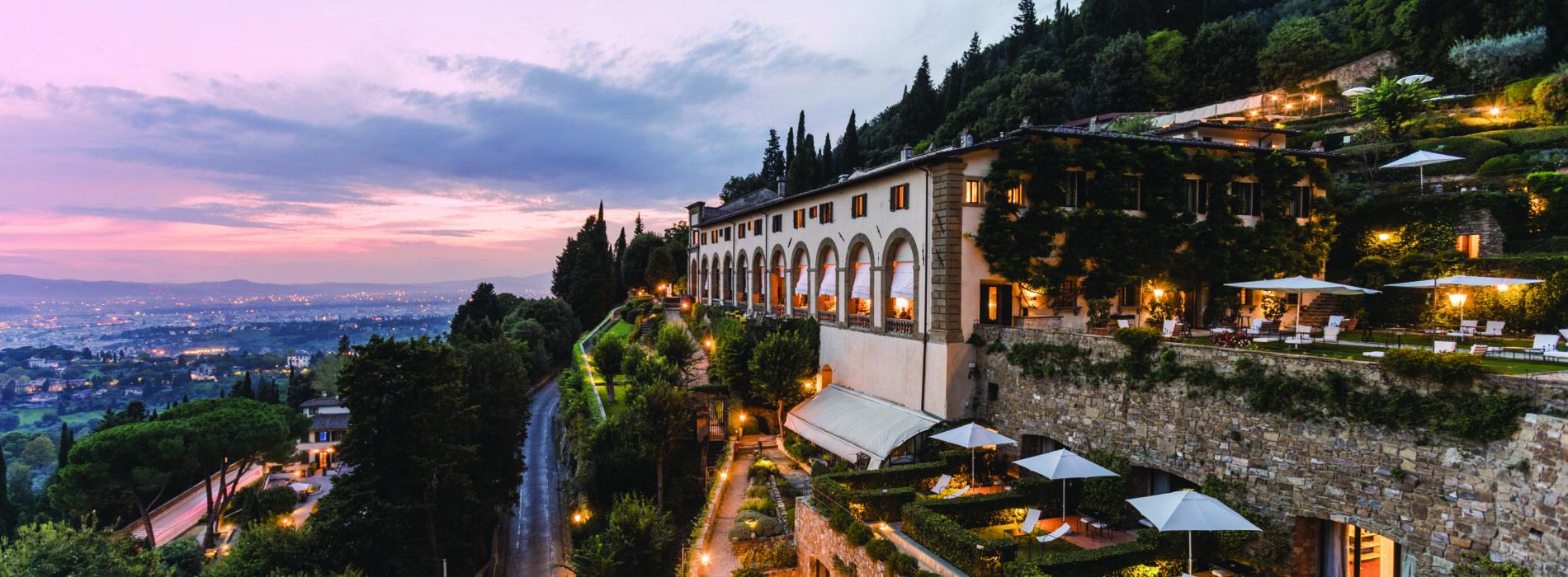 La Loggia di Villa San Michele a Fiesole riapre al pubblico: fuga in collina a pochi minuti dalla città